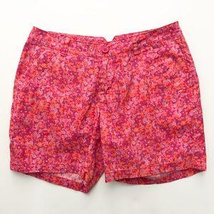 Columbia Sports Floral Shorts SZ 6